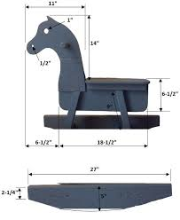 41 best rocking horse plans images on pinterest rocking horses