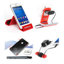 Cable Organizer Desk by Riona 4 In 1 Combo Wall Mobile Holder Desk Mobile Stand
