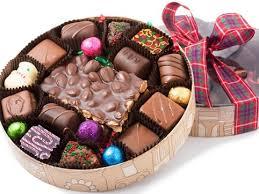 christmas chocolate 20 chocolate christmas box li lac chocolates