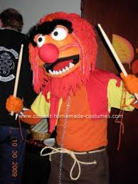 Barney Through The Years Muppets by Cool Homemade Animal Muppet Halloween Costume Animal Muppet
