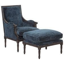 velvet chair and ottoman safavieh couture high line collection zahara velvet chair ottoman