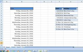 how to highlight weekends and holidays in excel techrepublic