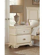 homelegance b1799 4 clementine white night stand