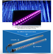 led meteor shower tube lights disco light led meteor tube light for nightclub stage buy led