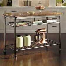 metal kitchen islands for less overstock