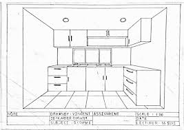 how to draw a kitchen kitchen cabinets