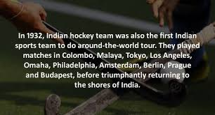 11 facts about indian hockey you probably didn t sports arena