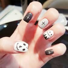 online get cheap grey fake nails aliexpress com alibaba group
