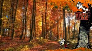 Wall Mural Wallpaper Nature Forest Tree Light Show Photo Made Some Calvin Hobbes Walls Album On Imgur