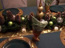 perennial passion green gold u0026 silver grey dining room christmas