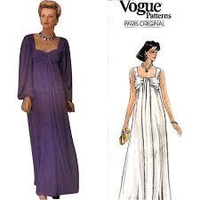 vogue wedding dress patterns sale vintage sewing pattern givenchy vogue 1530 evening dress