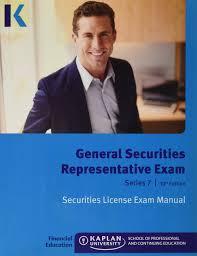 Financial Representative General Securities Representative Exam Series 7 10th Edition