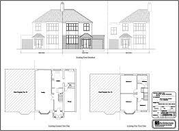 ground floor extension plans double storey side rear extension redbridge aa studio