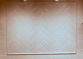 cream subway tile backsplash the fireplace surround is done in 2
