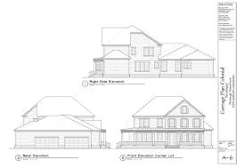 Floor Plan With Roof Plan House Designs Newbury