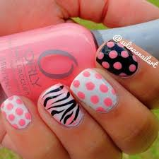 cute nail polish designs to do at home 20 amazing and simple nail