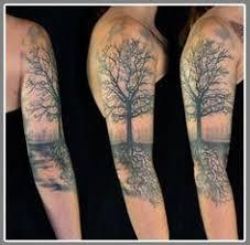 inner bicep sleeve tree flowers search ink i