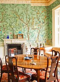 Wallpaper Designs For Dining Room by 58 Best Dining Room Images On Pinterest Chinoiserie Wallpaper
