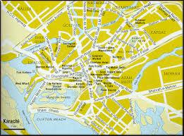map of karachi karachi maps