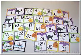 doodle bugs teaching grade rocks october calendar cards