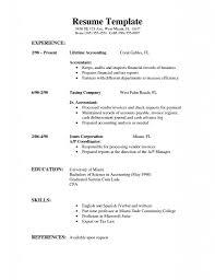 Server Objective For Resume Resume Good Example Cvs Resume Example Good Job Resume Sample