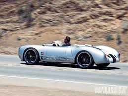 spyder porsche price carrera coachwerks 550 spyder replica european car magazine