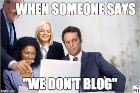 Blog Memes - unfinished business content marketing memes