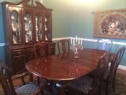 Kincaid Dining Room Furniture Find More Beautiful Kincaid Cherry Dining Room Set Table With Two