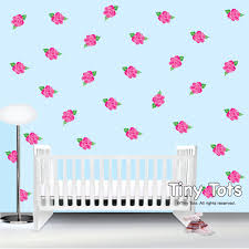 rose wall decal etsy rose wall decals stickers shabby chic nursery children flower decal