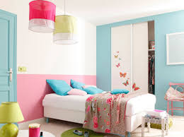 idee deco peinture chambre idee couleur chambre fille envoûtant deco peinture chambre fille