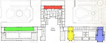 Chateau Floor Plans by File Plans Du Rez De Chaussée Et Du Premier étage Du Palais De