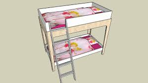 Oeuf Bunk Bed Bunk Bed Oeuf Perch 3d Warehouse