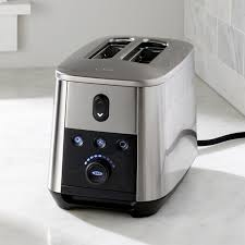 Bagel Setting On Toaster Oxo On 2 Slice Toaster Crate And Barrel