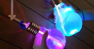 halloween light bulb glowing light bulb drink trend asia instagram photos