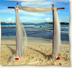 Bamboo Wedding Arch Island Wedding Arches And Aisles St Thomas Wedding Us Virgin