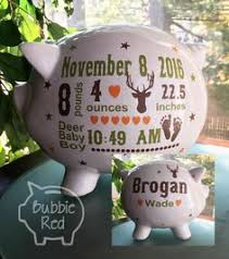 personalized piggy bank boy piggy banks personalized ceramic