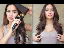 how to curl your hair fast with a wand how to curl your hair youtube