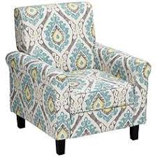 Ikat Armchair Blue Occasional Chairs Seating Lamps Plus
