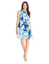 eliza j eliza j women s floral float dress with ruffles of the