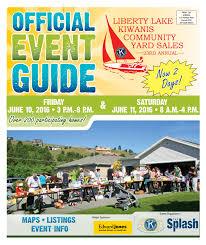 Radio Flyer Spring Horse Liberty 2016 Liberty Lake Kiwanis Community Yard Sale Guide By The Liberty