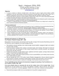 Sample Resume For Research Analyst by Download Cpa Resume Haadyaooverbayresort Com