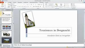 powerpoint design zuweisen powerpoint 2010 grundkurs business software