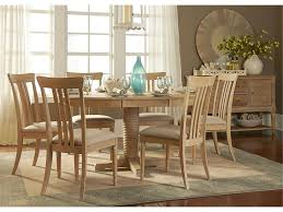 pottery barn montego turned leg dining table copy cat chic behind