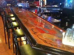 Epoxy Table Top Ideas by Epoxy Bar Top Ideas Fabulous Create A Penny Table Top With Epoxy