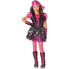 Pink Halloween Costumes Pretty Pirate Child Halloween Costume Walmart Com