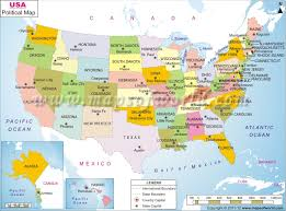 political us map 38th parallel map united states