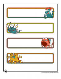 printable monster name tags printable name cards and bulletin board decorations woo jr kids