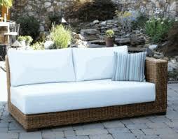 South Beach Sofa South Beach Outdoor Wicker Collection