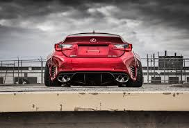 lexus rcf red here u0027s your rocket bunny lexus rc and a more visceral rc f
