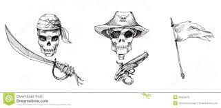 pirate ornaments illustration stock illustration image 36905872